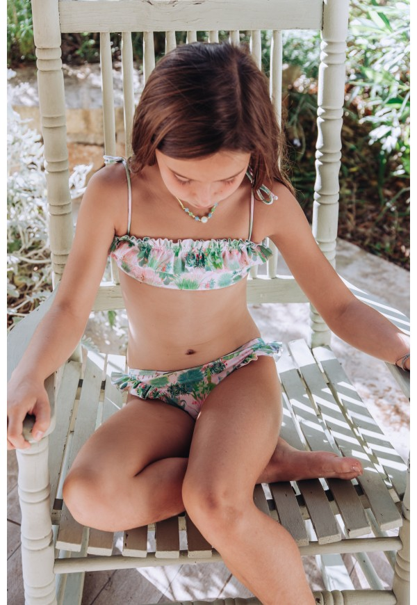 Bikini with Little Cabari print