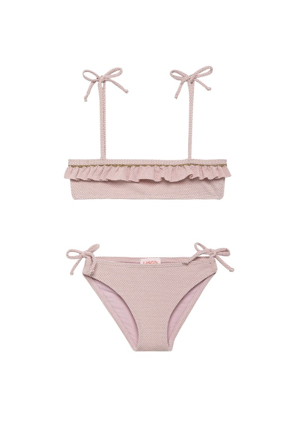 Lurex Bikini for girls UPF 50+