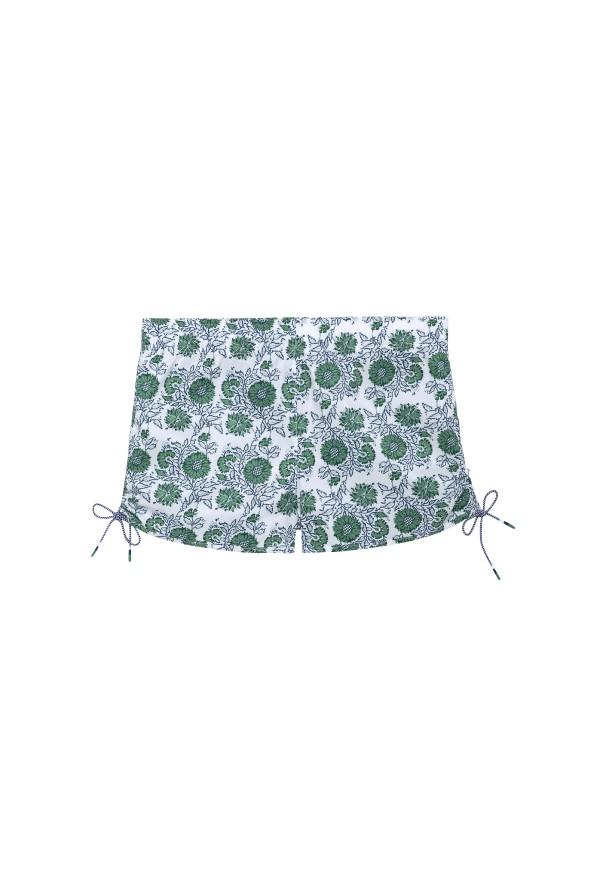 Girl's surfer short - floral print